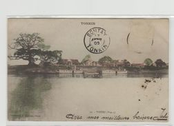 "1 Cpa Tonkin "" Vietri "" Pionnière - Cartes Postales"