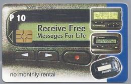 BW.- PHONECARD. BTC. RECEIVE FREE. MASSAGES FOR LIVE. No Monthly Rental. Radio Motorola Philips. P 10. 2 Scans - Botswana