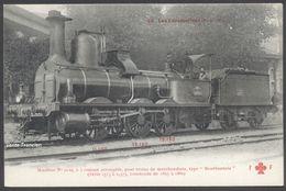 "Série ""Les Locomotives"" - PLM - Machine N°2129 Type Bourbonnais 030 - Coll. F. Fleury N°39 - See 2 Scans - Zubehör"