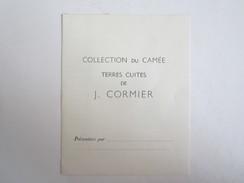 Collection Du Camée Terres Cuites De J Cormier Tanagras Statue - Old Paper