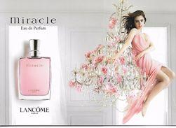 Lancôme Miracle Carte à Rabat Bilingue Anglais/chinois - Cartes Parfumées