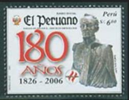 """Peru 2006 """"Peruvian News"""" Issue 180th Anniversary Of A Brand New Over 500 Yuan - Peru"""