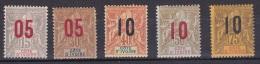 Cote D'Ivoire N°36 à 40* - Ivoorkust (1892-1944)