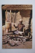 Zimbabwe - RHODESIA - AFRICAN WITCH DOCTOR - Old Postcard Nice Stamps - Zimbabwe