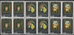 Perú 1967Bl4 YT A214-16 ** 350 Aniversario Santa Rosa De Lima.  See Desc. - Peru