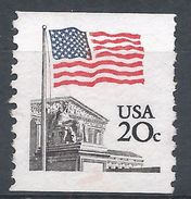 United States 1981. Scott #1895 (MNG) Flag Over Supreme Court - Rollen