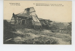 GUERRE 1914-18 - BOUCHAVESNES - Ce Qui Reste Du Moulin - Other Municipalities