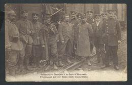 +++ CPA - Prisonniers Français à La Gare D'ETTERBEEK - Guerre - Militaria  // - Etterbeek