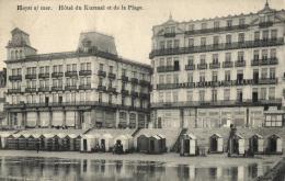 BELGIQUE - FLANDRE OCCIDENTALE - HEIST - HEYST - Hôtel Du Kursaal Et La Plage. - Heist