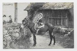 """38 Dép.- Carte Photo - Ceci Est écrit Au Bas De La Photo """"Gorges D'Allevard. Le 2 Février 1915"""". Carte Postale écrite Au - Allevard"""