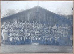 Grande Photo 42 Bataillon Génie 63 Compagnie 1922 Souvenir De Bonn Militaria Soldats Régiment - Guerra, Militares