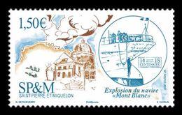 St. Pierre And Miquelon 2017 Mih. 1287 Halifax Explosion Of 6 December 1917. Ship Mont-Blanc MNH ** - St.Pierre & Miquelon