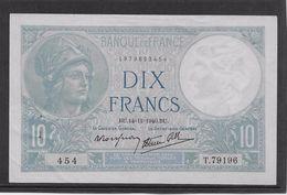 France 10 Francs Minerve - 14-11-1940 - Fayette N°7-20 - SPL - 1871-1952 Antichi Franchi Circolanti Nel XX Secolo