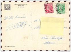 Z634 AU DOS D'UNE CARTE TUBINGEN CACHET POSTE AUX ARMEES 1948 - Francia