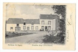 Environs De SUGNY  (cpa 08)   Frontière Belge (Près Pierret) -   - L 1 - Autres Communes