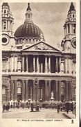 London - St. Paul's Cathedral (West Front) 1936 (002059) - St. Paul's Cathedral