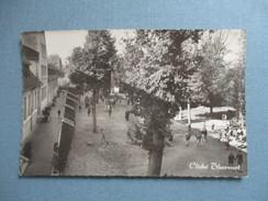 CPA PHOTO 91 MONTGERON LYCEE MIXTE RECREATION - Montgeron