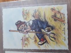 Carte Postale La Récolte Est Bonne !... Germaine Bouret - Niños