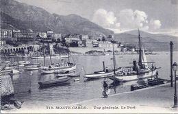 Monte-Carlo - Vue Générale. Le Port (002060) - Hafen