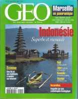 GEO 225 - Indonésie - Marseille En Panoramique - Ecosse - Incendies - TBE - Géographie