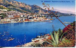 Monaco - Panorama De Monte Carlo (002063) - Monaco