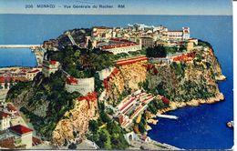 Monaco - Vue Générale Du Rocher (002064) - Monaco