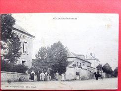 58, Coulanges Les Nevers ,le Centre Du Bourg , Vue Peu Courante - France