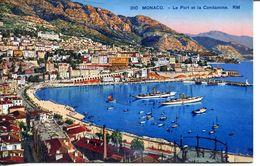 Monaco - Le Port Et La Condamine (002068) - Hafen