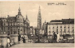 BELGIQUE - ANVERS - ANTWERPEN - Canal Au Sucre - Suikerrui. - Antwerpen