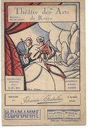Rouen - Théatre Des Arts - 1928 - 1929 - Offre Faite Pour Les 2 - Programmi