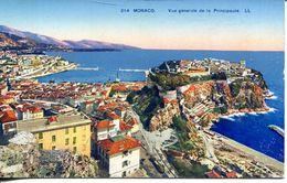 Monaco - Vue Générale De La Pricipauté(002069) - Monaco