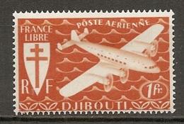 C  SOMALIS - PA  Yv.  N° 1   *  1f Série Londres  Cote  1  Euros  BE 2 Scans - Côte Française Des Somalis (1894-1967)
