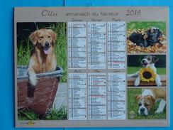 CALENDRIER  ALMANACH  DU  FACTEUR  2016  NEUF - Calendars
