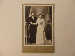Photo L. Peyclit Rue De Thionville à Château-Gontier (53) Souvenir Du 11 Juin 191 De A. Et J. Thomas. 16,5cm/11cm. - Old (before 1900)