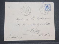 LIBYE - Enveloppe De Sebha Fezzan Pour Dijon En 1952 , Affranchissement Plaisant -  L 10460 - Libyen