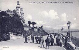 Monte Carlo - Le Théâtre Et Les Terrasses(002070) - Terrassen