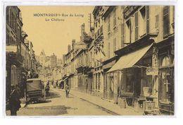 CPA 45 MONTARGIS RUE DU LOING LE CHATEAU - Montargis