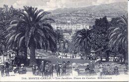 Monte- Carlo - Les Jardins, Place Du Casino. Beausoleil (002071) - Monaco