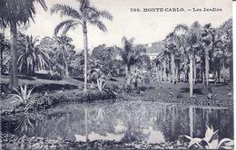 Monte- Carlo - Les Jardins (002073) - Exotischer Garten