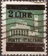 ITALIA 1945 Fascist Republic - Stamps Of 1929 & 1944 Surcharged. USADO - USED. - 1900-44 Victor Emmanuel III