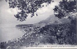 Monte- Carlo - Vue Générale Prise De La Corniche (002074) - Monaco