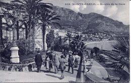 Monte- Carlo - Montée De La Gare (002075) - Monaco