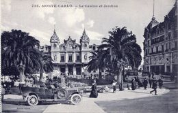 Monte- Carlo - Le Casino Et Jardins (002077) - Spielbank