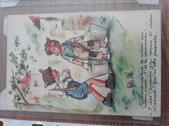 Carte Postale Tu Voudrais Tout De Même Pas Commander, T'es Le Prisonnier !... Germaine Bouret - Niños