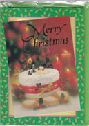 BIGLIETTO DI  MERRY CHRISTMAS - AUGURI DI BUON NATALE E FELICE ANNO NUOVO MUSICALE. - Decorative Items