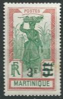 Martinique  - - Yvert N°117 * -  Ah 24011 - Martinique (1886-1947)