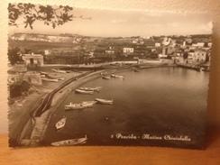 Cartolina Procida Napoli  Marina Chiaiolella Viaggiata 1953  Barche - Napoli