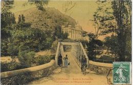 Saint-Uze (Drôme) - Route De Rochetaillée - Pont Métallique De L'Hospice St Joseph - Edition Charvat - Andere Gemeenten