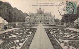 14 - BALLEROY - Les Jardins Et Le Château Vus De Face - France