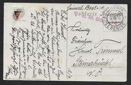 S.M. Boot 14  ( Bateau Autrichien ) - Marcophilie (Lettres)